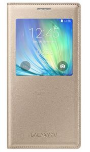 S-View Cover Galaxy A7 gold