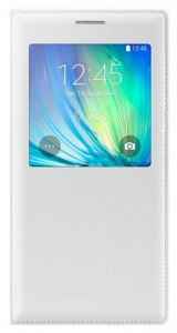 S-View Cover Galaxy A7 weiss