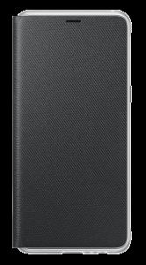 Neon Flip Cover für Galaxy A8 (2018) schwarz
