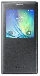 S-View Cover Galaxy A7  schwarz