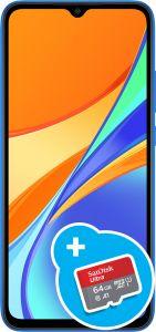 Redmi 9C-blau-32GB +64 GB microSDXC