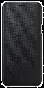 Wallet Cover für Galaxy J6 schwarz